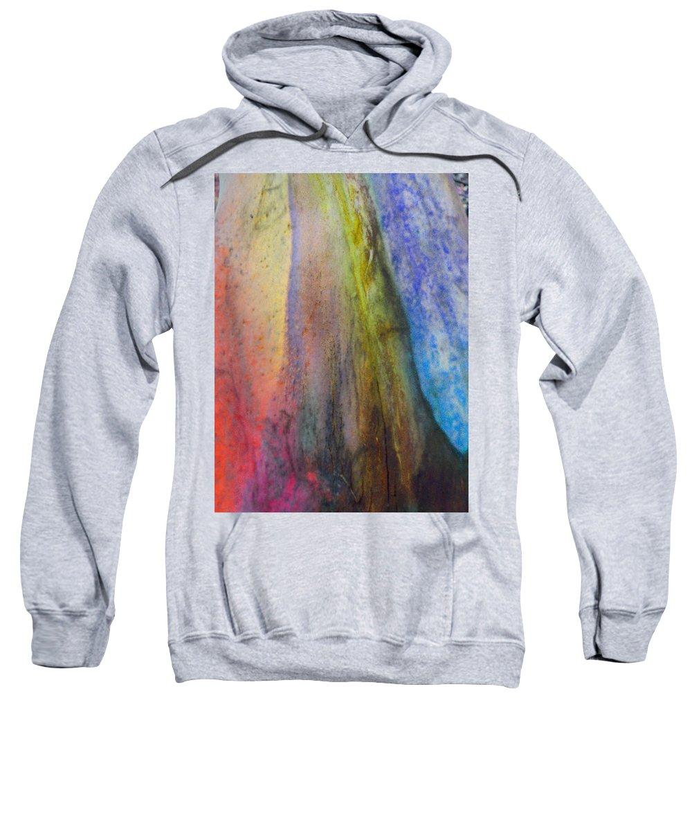Nature Sweatshirt featuring the digital art Move On by Richard Laeton