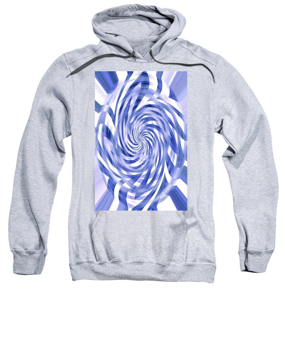 Moveonart! inthewind By Artist Jacob Kane Kanduch -- Omnetra Sweatshirt featuring the digital art Moveonart Inthewind by Jacob Kanduch