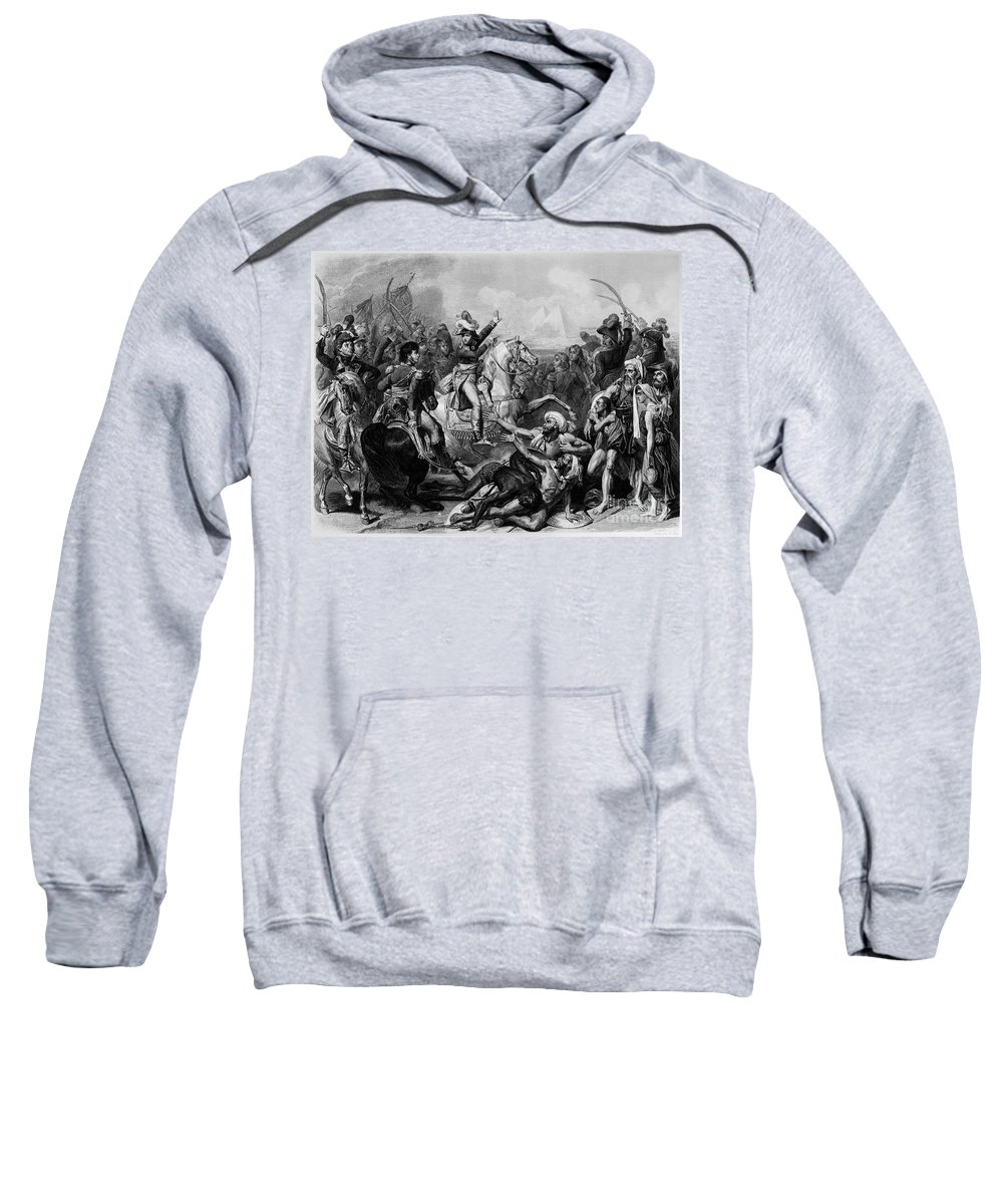 1798 Sweatshirt featuring the photograph Napoleon, (1769-1821) by Granger