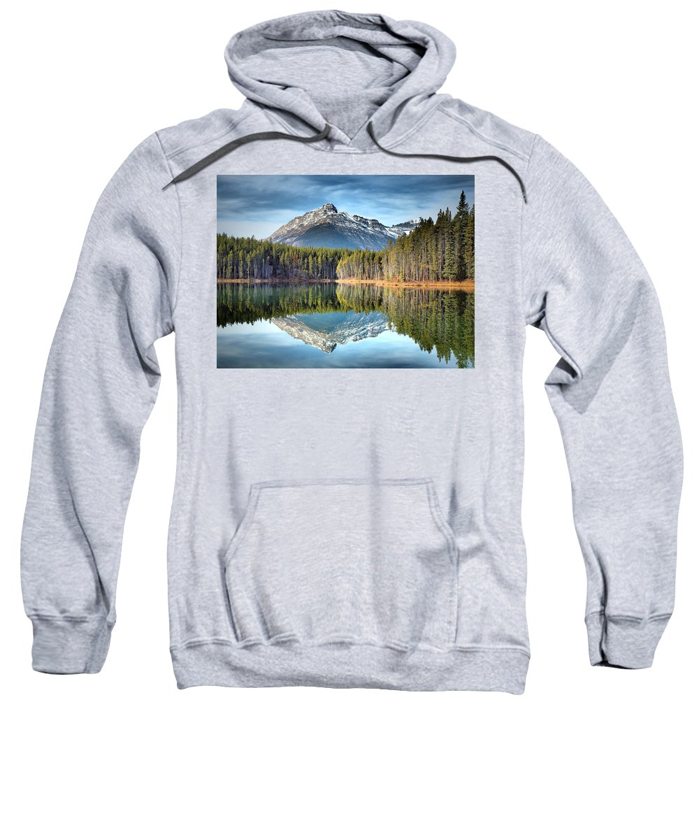 Mountains Sweatshirt featuring the photograph Nature's Reflections by Tara Turner