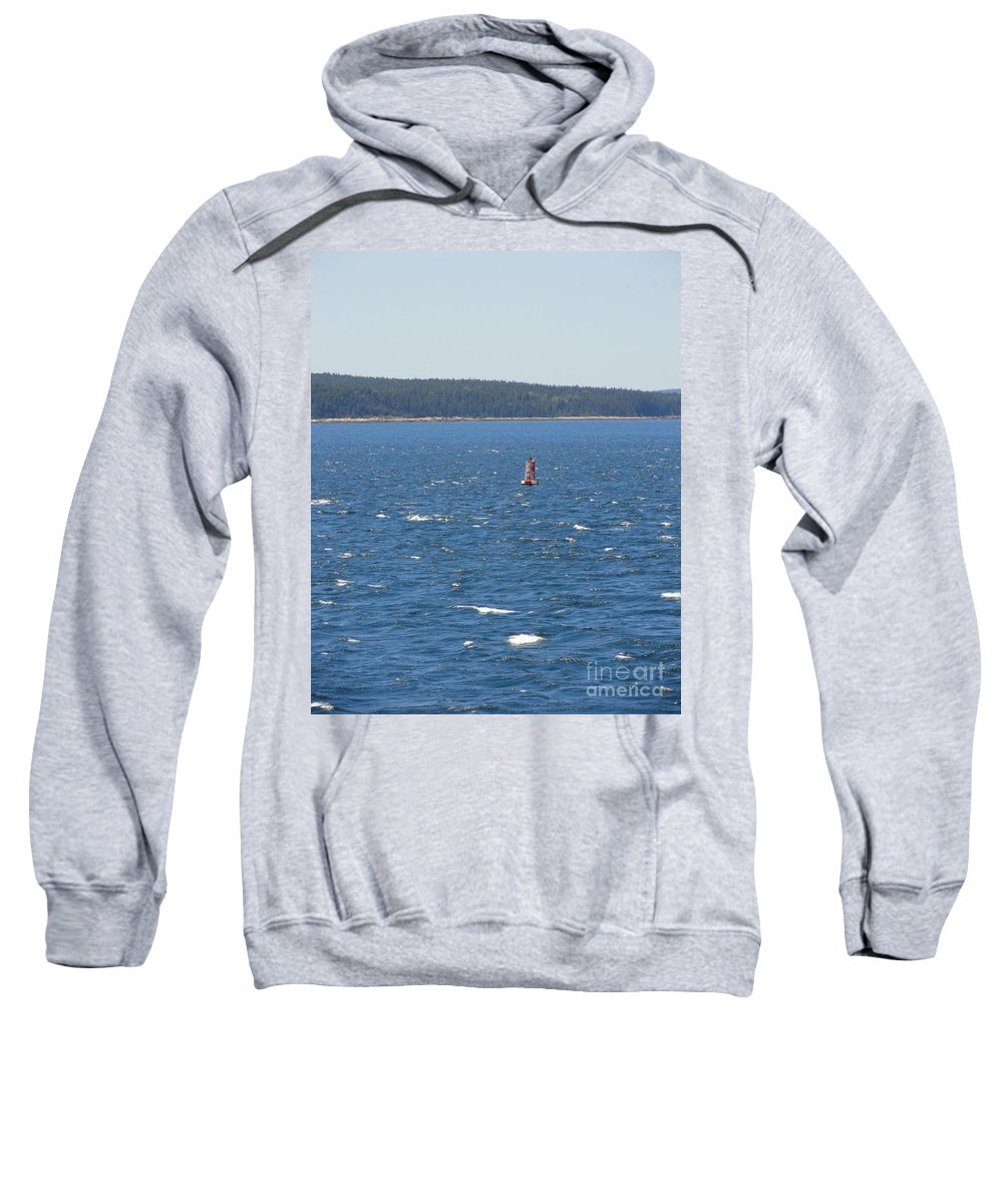 Ocean Sweatshirt featuring the photograph Navigation by Meandering Photography
