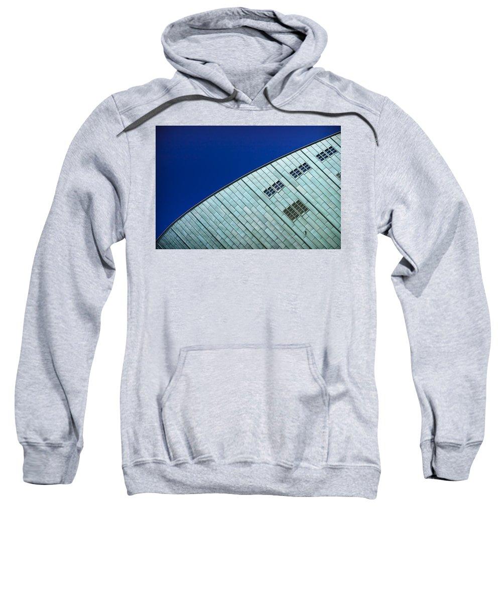 3scape Photos Sweatshirt featuring the photograph Nemo Science Center by Adam Romanowicz