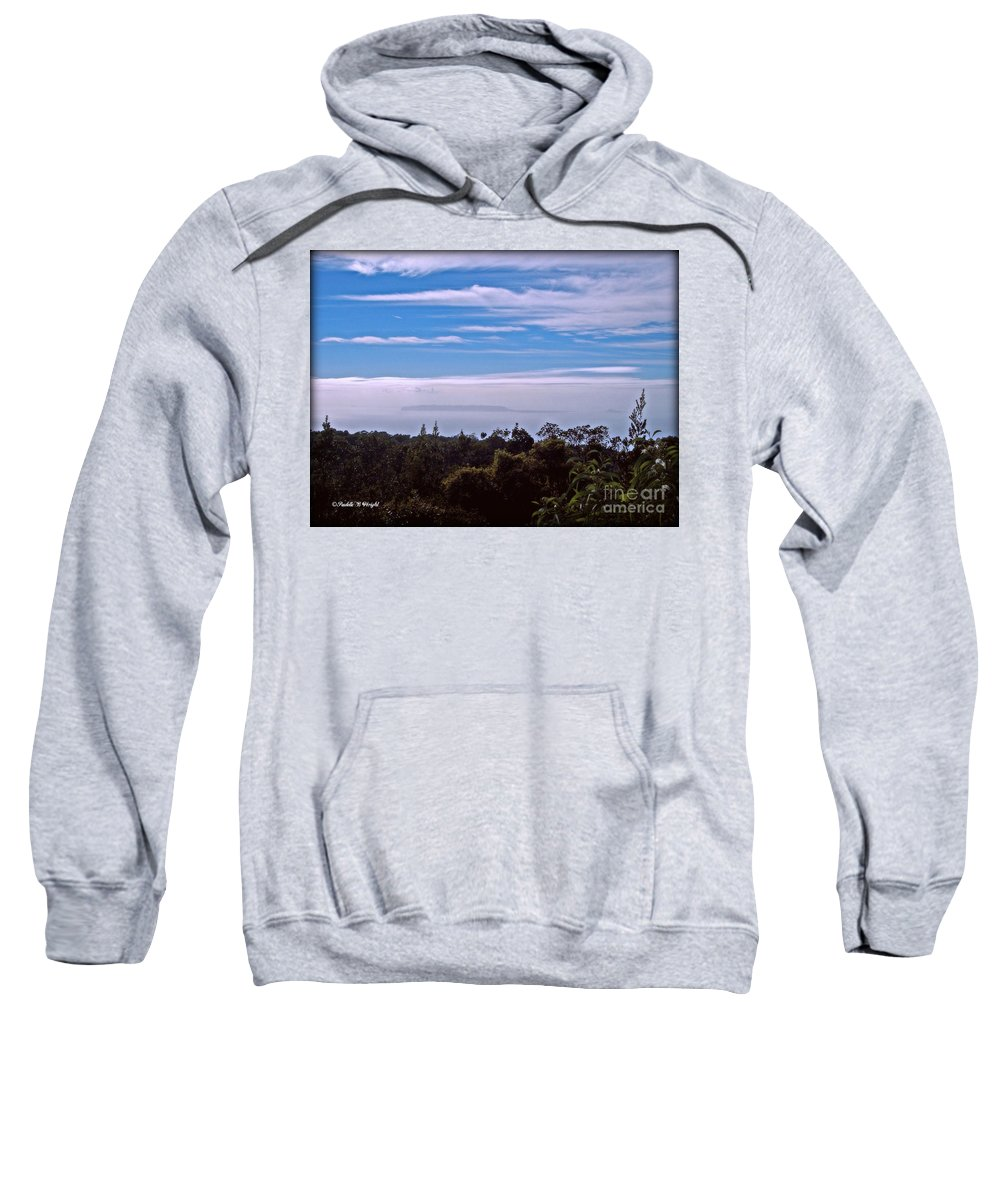 Niihau Sweatshirt featuring the photograph Niihau And Lehua by Paulette B Wright