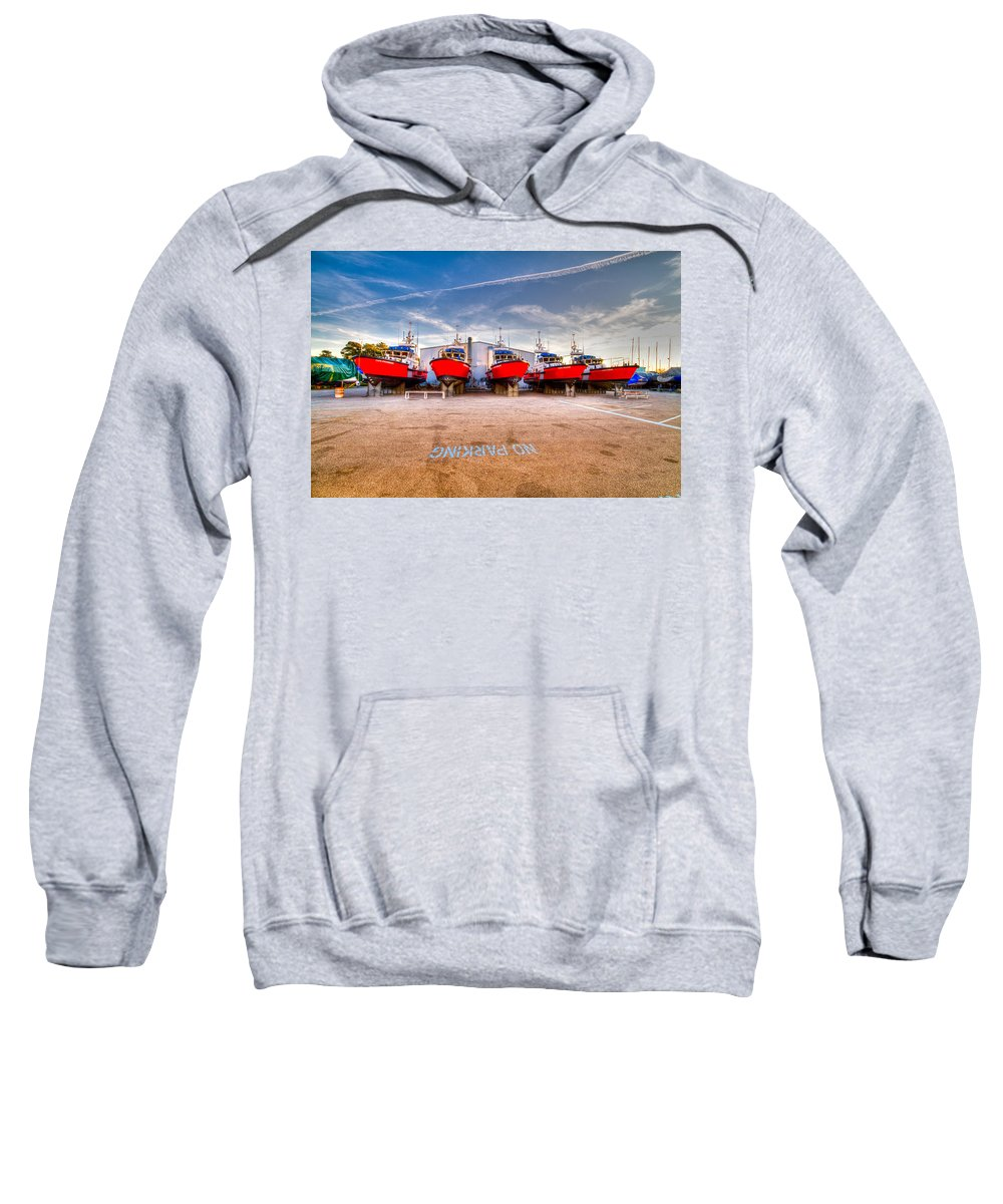 Ccg Sweatshirt featuring the photograph No Parking by Bill Lindsay