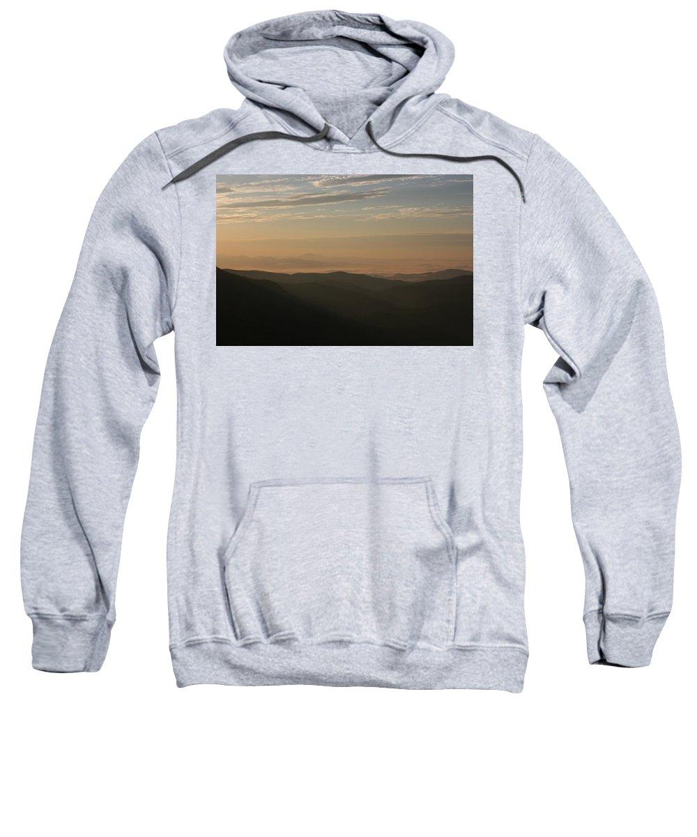 North Carolina Sweatshirt featuring the photograph North Carolina Sunrise by Stacy C Bottoms