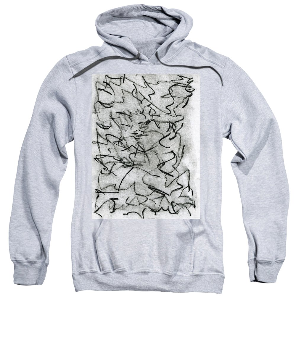 Objection Sweatshirt featuring the painting Objection by Taylor Webb