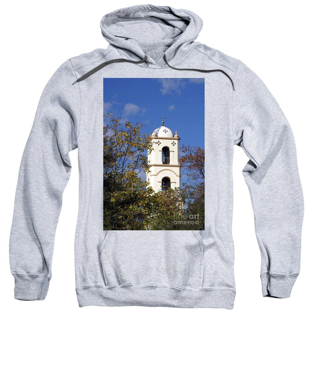 Architecture Sweatshirt featuring the photograph Ojai Tower by Henrik Lehnerer