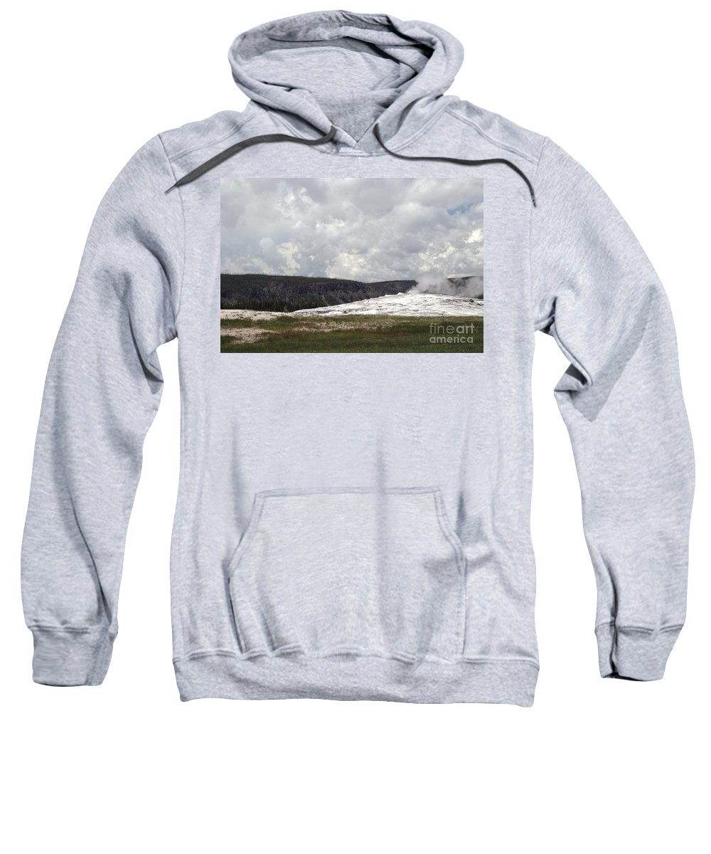 Old Faithful Sweatshirt featuring the photograph Old Faithful At Rest by Living Color Photography Lorraine Lynch