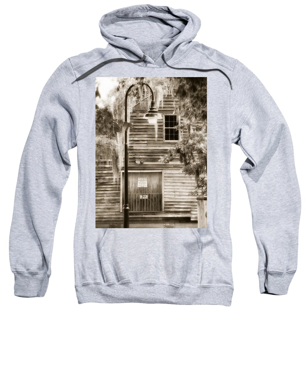 Sweatshirt featuring the photograph Old Times by Michele Nelson