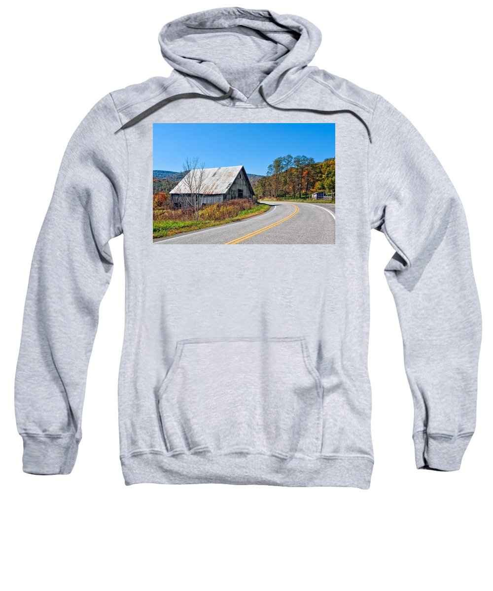 West Virginia Sweatshirt featuring the photograph On A Roll In West Virginia 2 by Steve Harrington