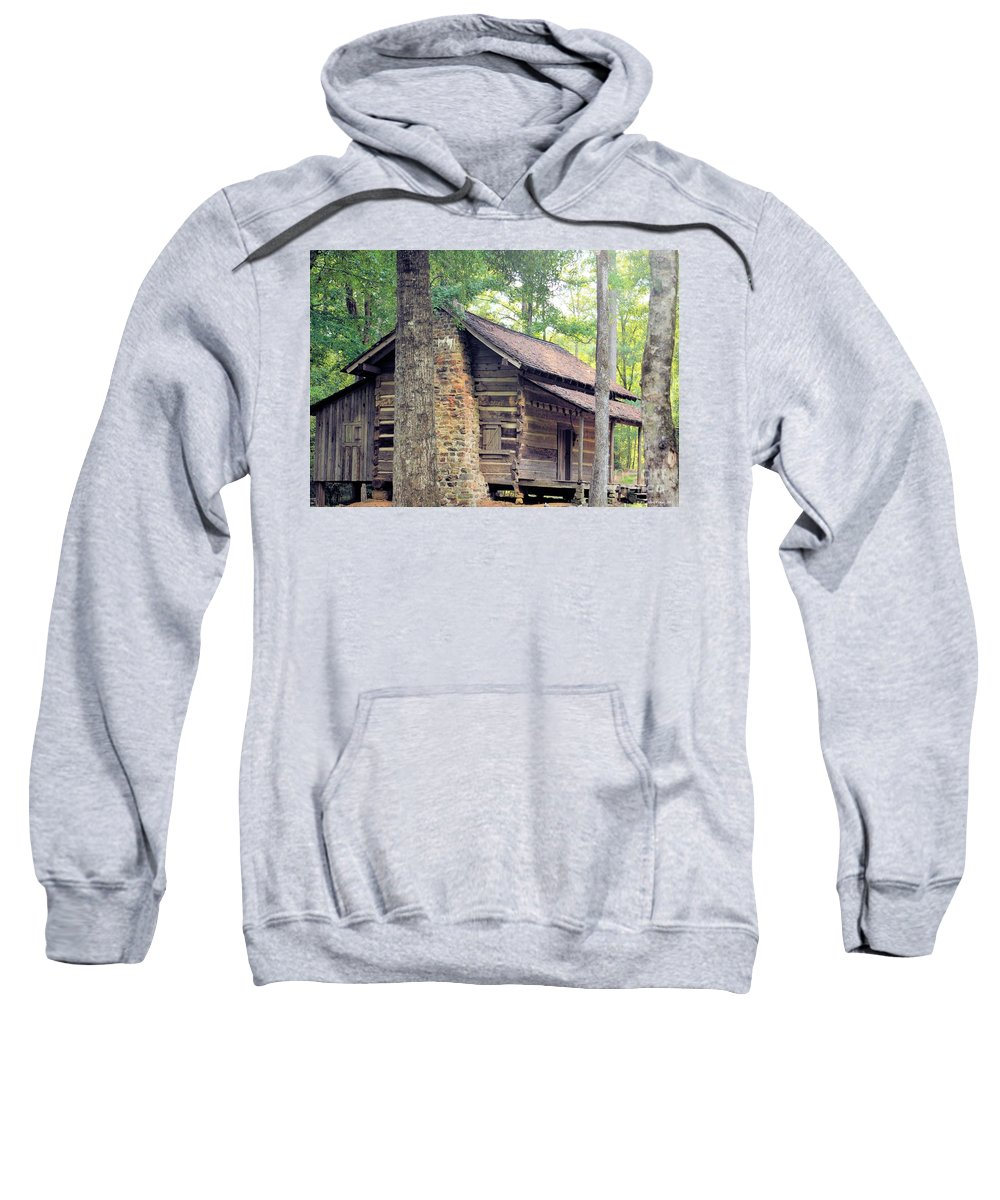 Once Sweatshirt featuring the photograph Once Lived In by Maria Urso