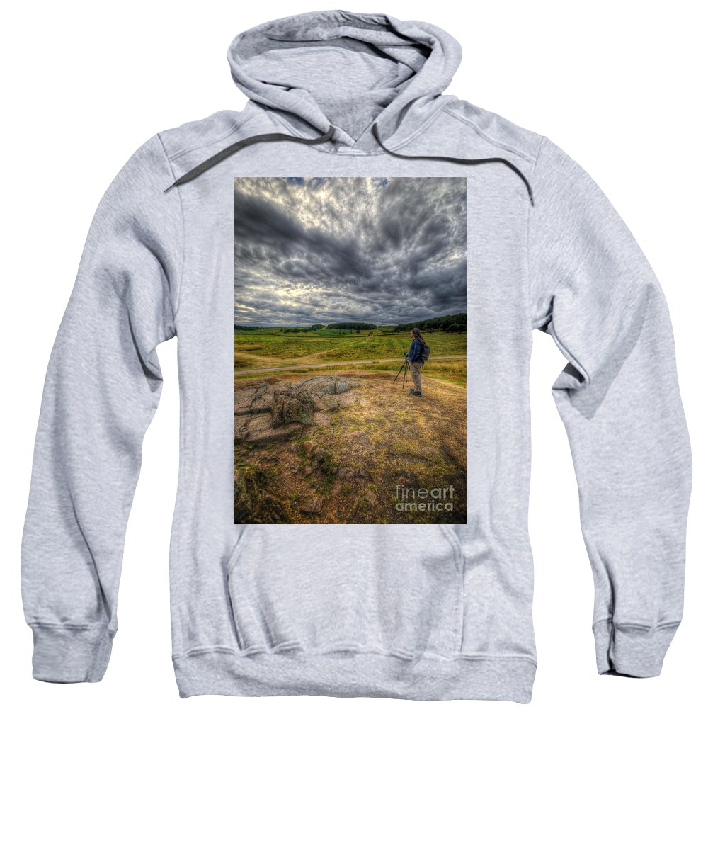 Art Sweatshirt featuring the photograph One With Nature by Yhun Suarez