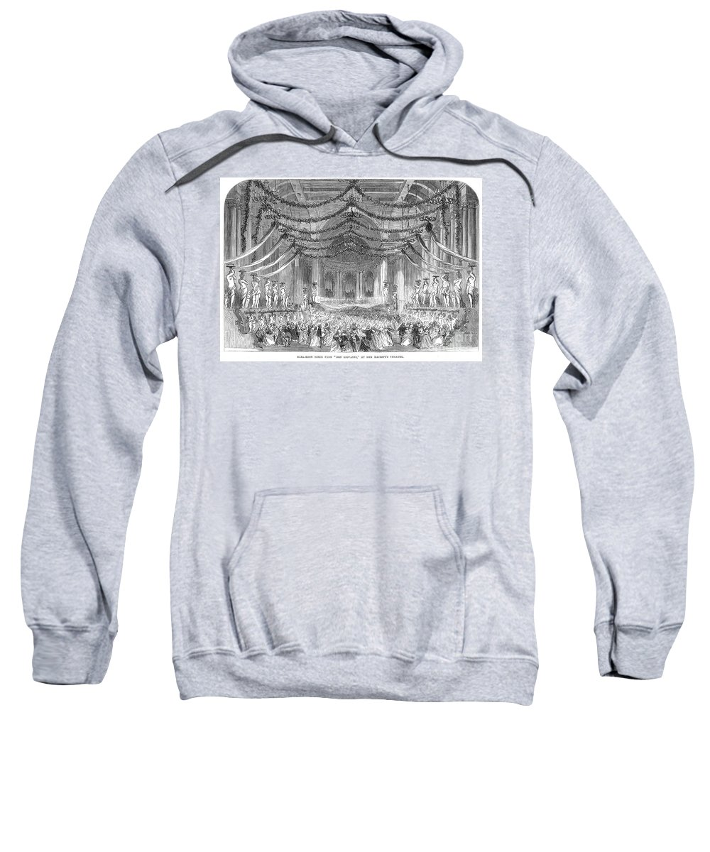 1867 Sweatshirt featuring the photograph Opera: Don Giovanni, 1867 by Granger