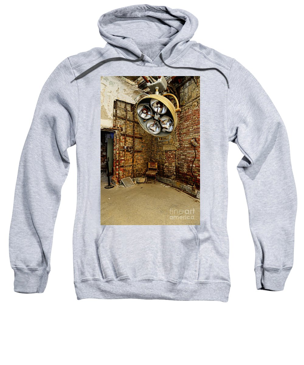 Operating Room - Eastern State Penitentiary Sweatshirt featuring the photograph Operating Room - Eastern State Penitentiary by Paul Ward