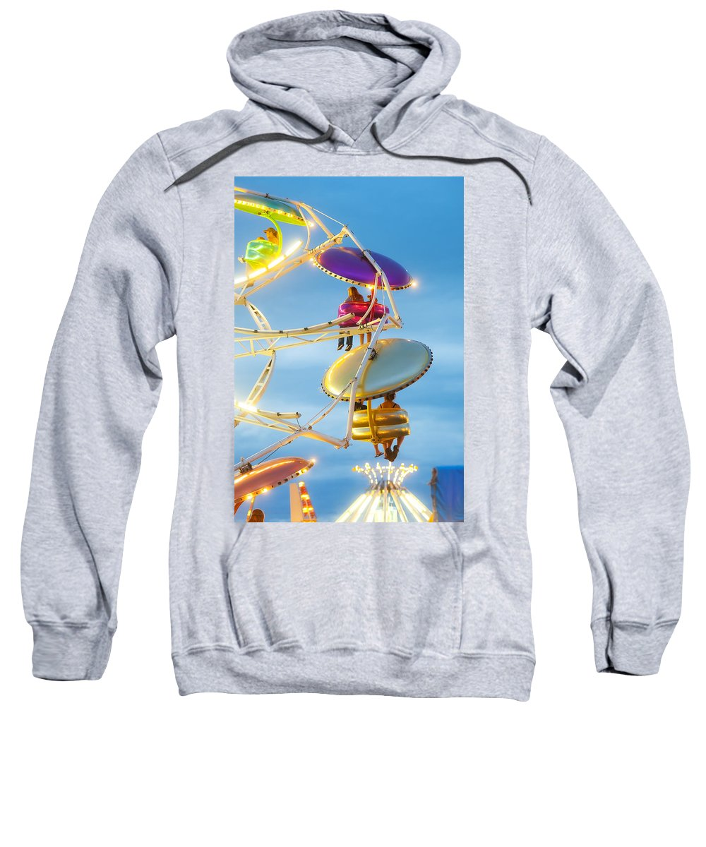 Ride Sweatshirt featuring the photograph Paratrooper I by Beth Riser