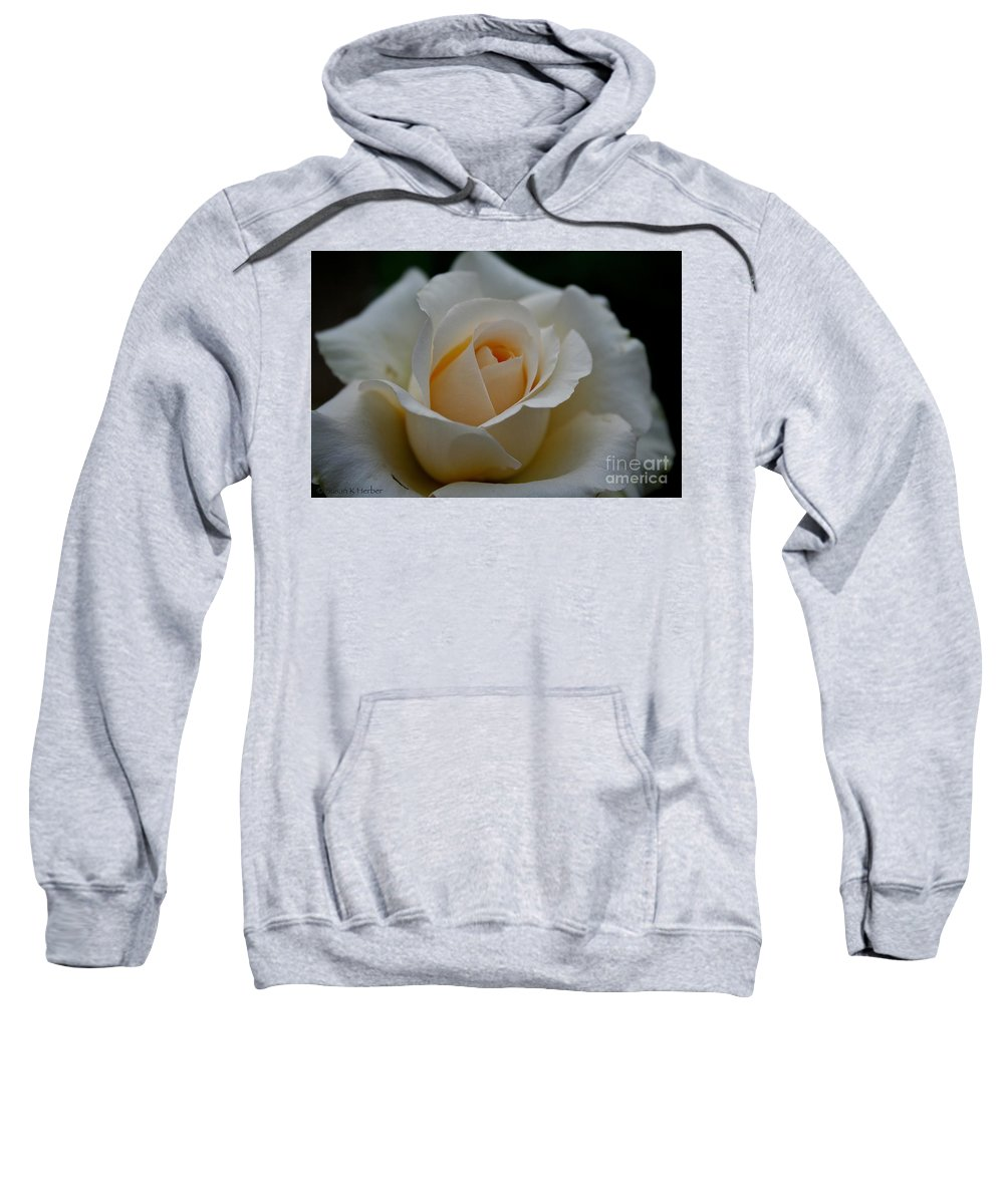 Outdoors Sweatshirt featuring the photograph Pastel Ebb Tide by Susan Herber