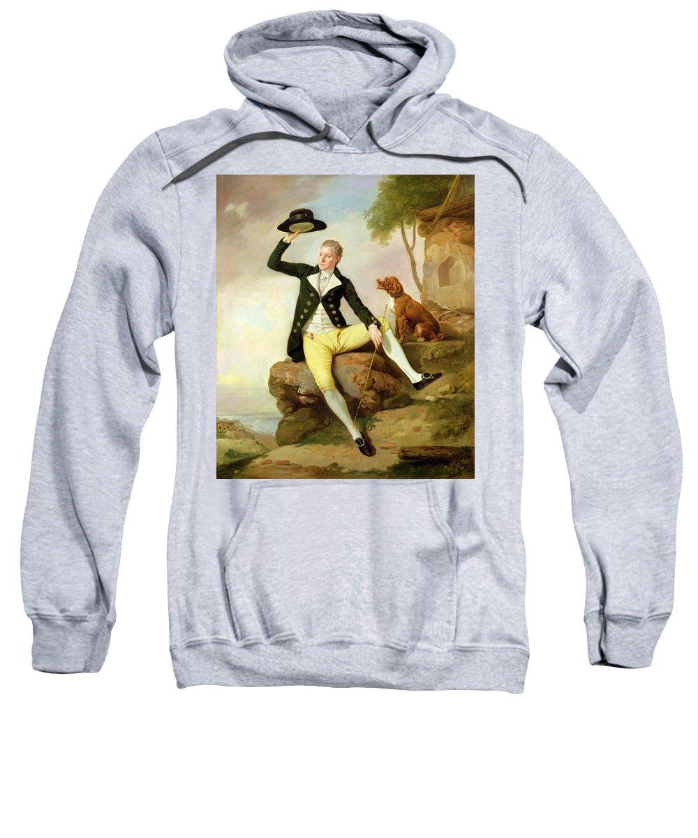 Xyc191992 Sweatshirt featuring the photograph Patrick Heatly by Johann Zoffany