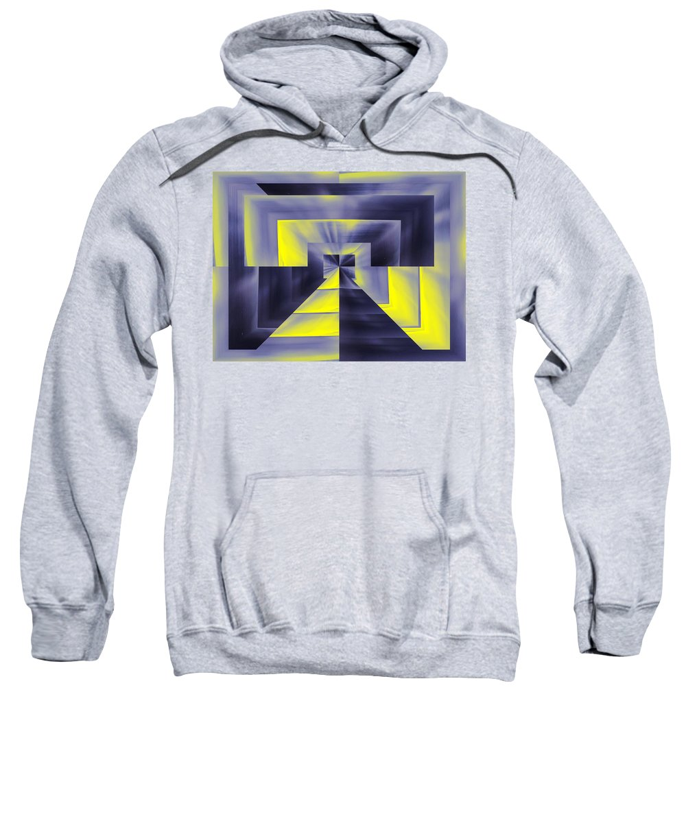 Pharaoh Sweatshirt featuring the digital art Pharaohs Dawning by Tim Allen