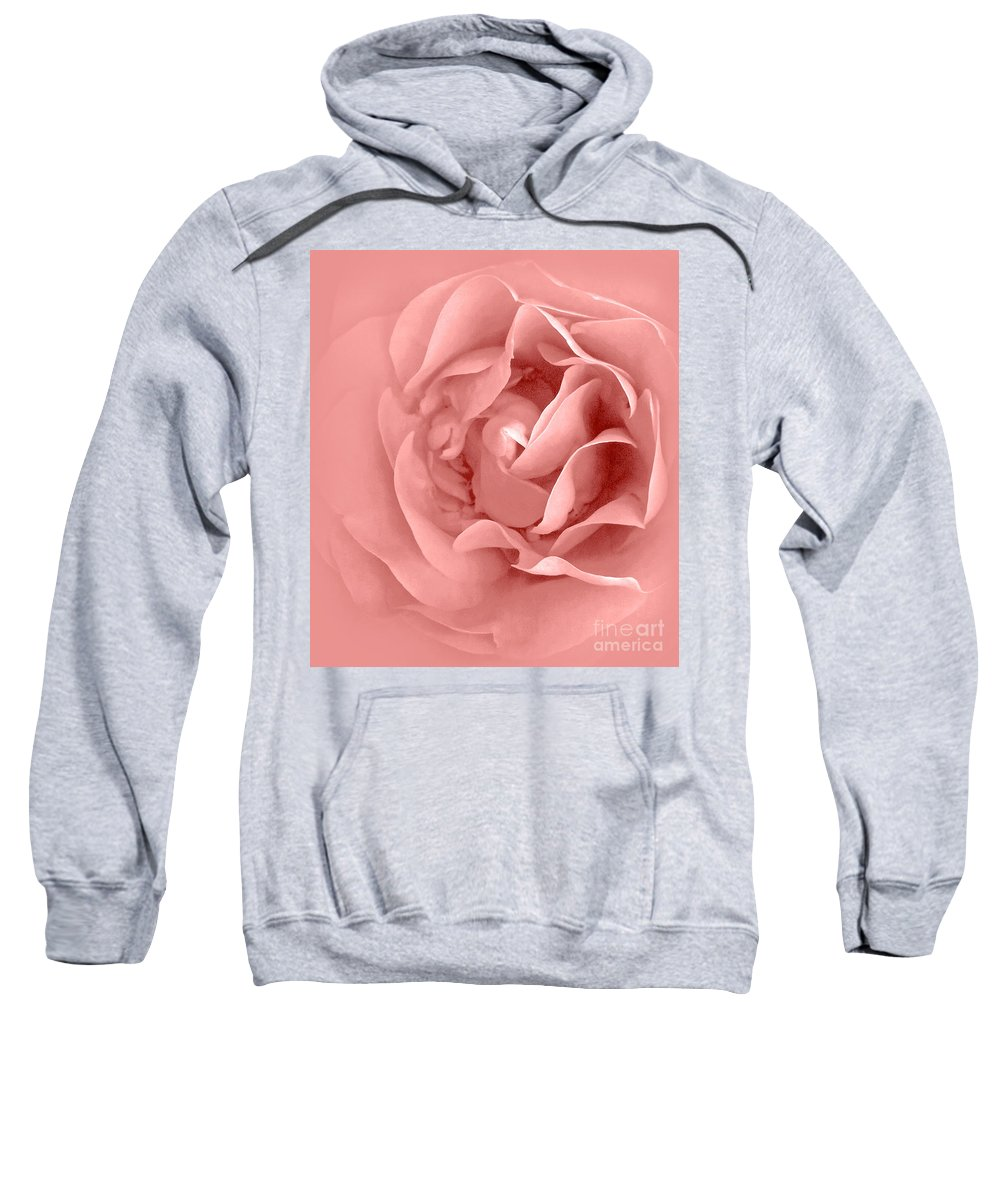 Clay Sweatshirt featuring the photograph Pink Fluff by Clayton Bruster