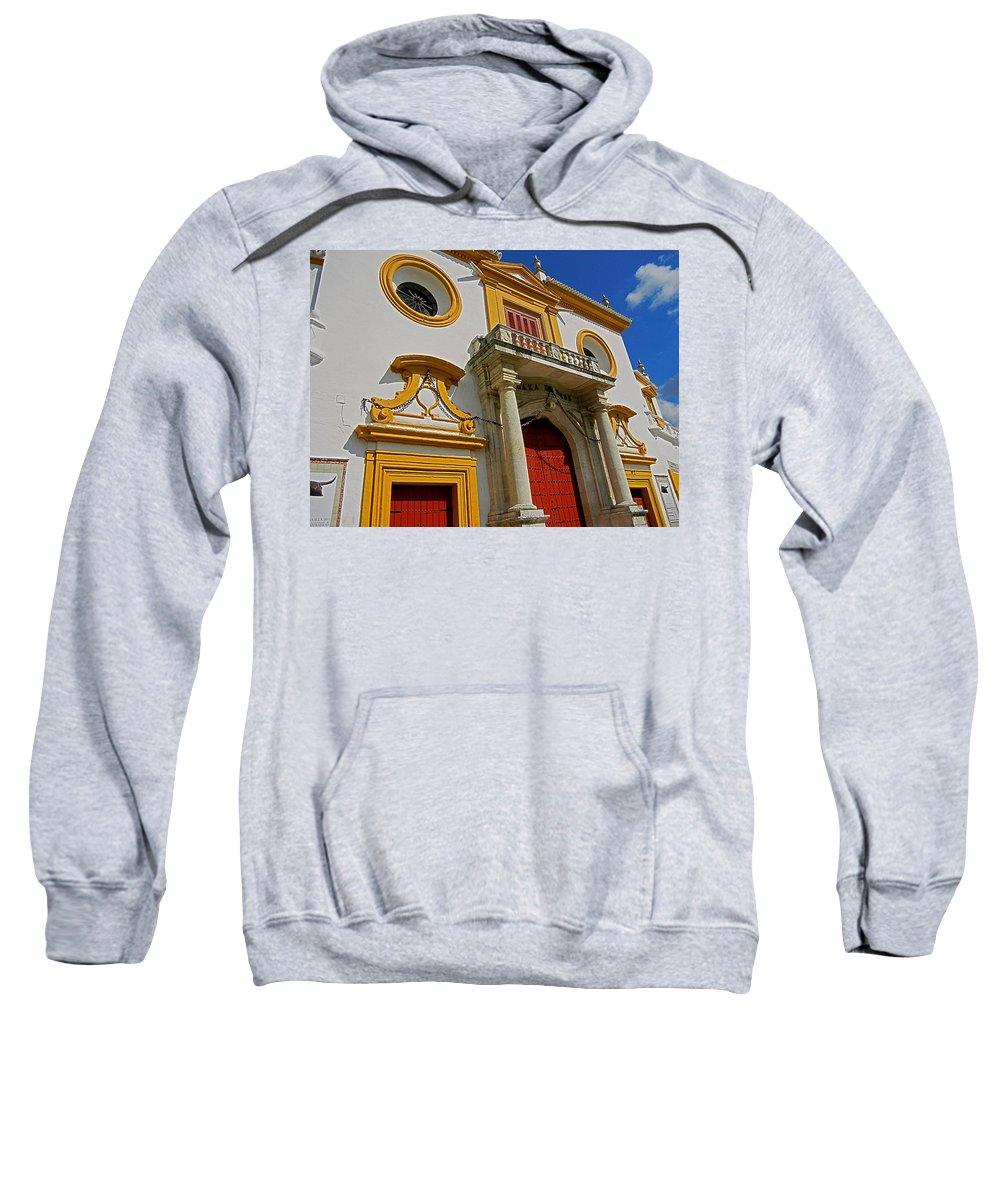 Europa Sweatshirt featuring the photograph Plaza De Toros De La Maestranza - Seville by Juergen Weiss