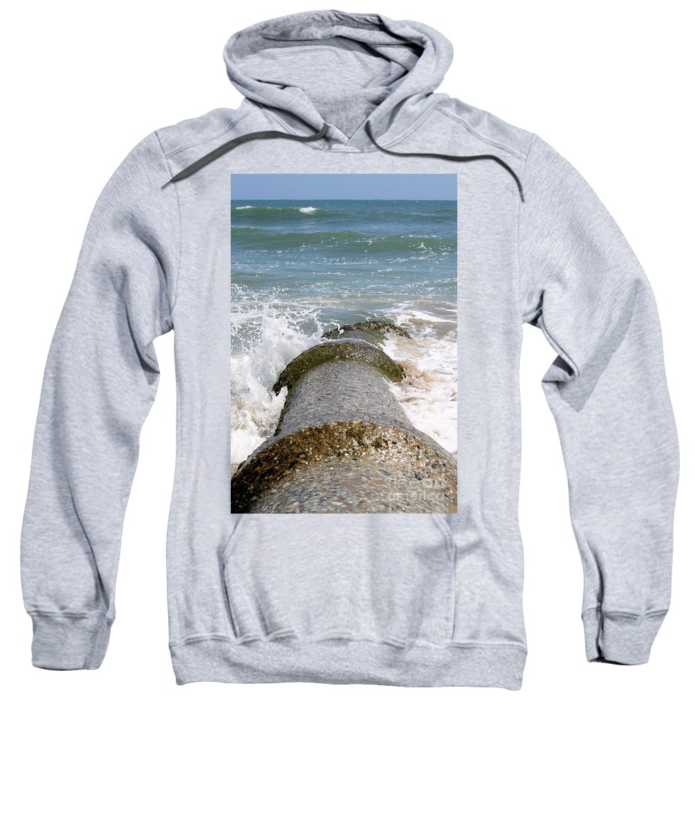 Water Sweatshirt featuring the photograph Pollution by Henrik Lehnerer