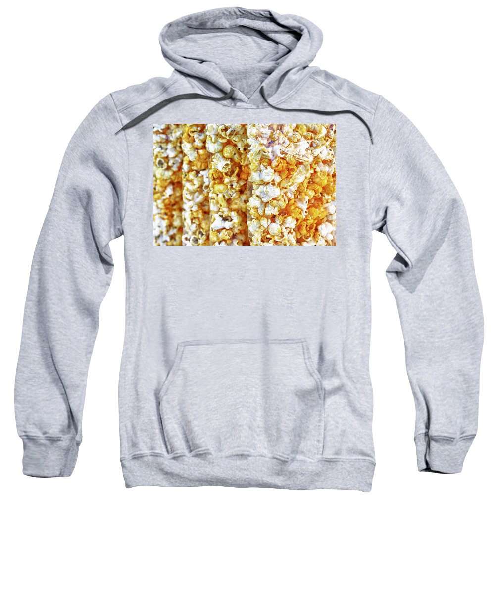 Abstract Sweatshirt featuring the photograph Pop Corn by Skip Nall