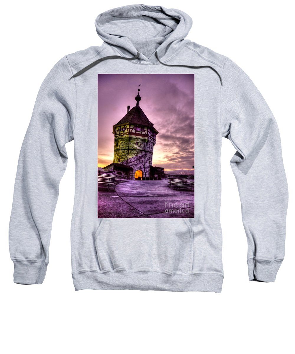Switzerland Sweatshirt featuring the photograph Princes Tower by Syed Aqueel