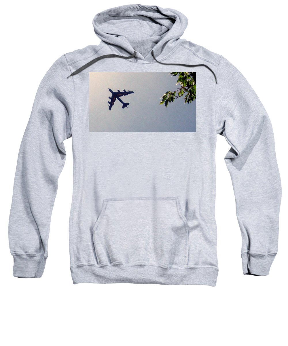 Sweatshirt featuring the photograph Protection by Amy Hosp