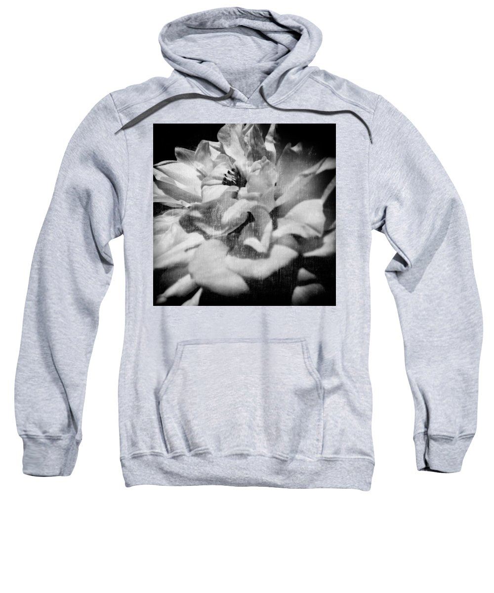 Flower Sweatshirt featuring the photograph Purity by Jessica Brawley
