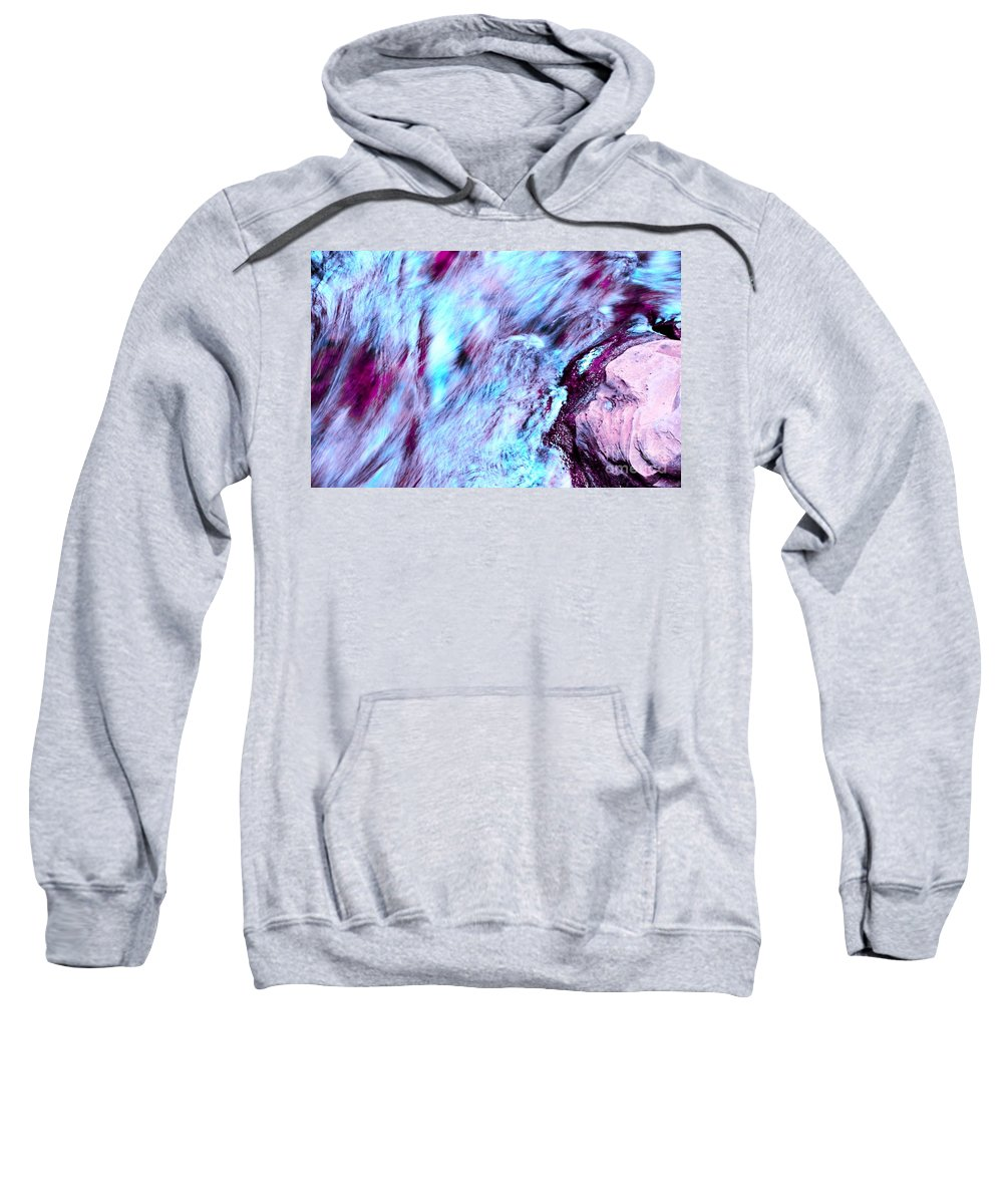 Letchworth Sweatshirt featuring the photograph Rainbow Colors by Kathleen Struckle