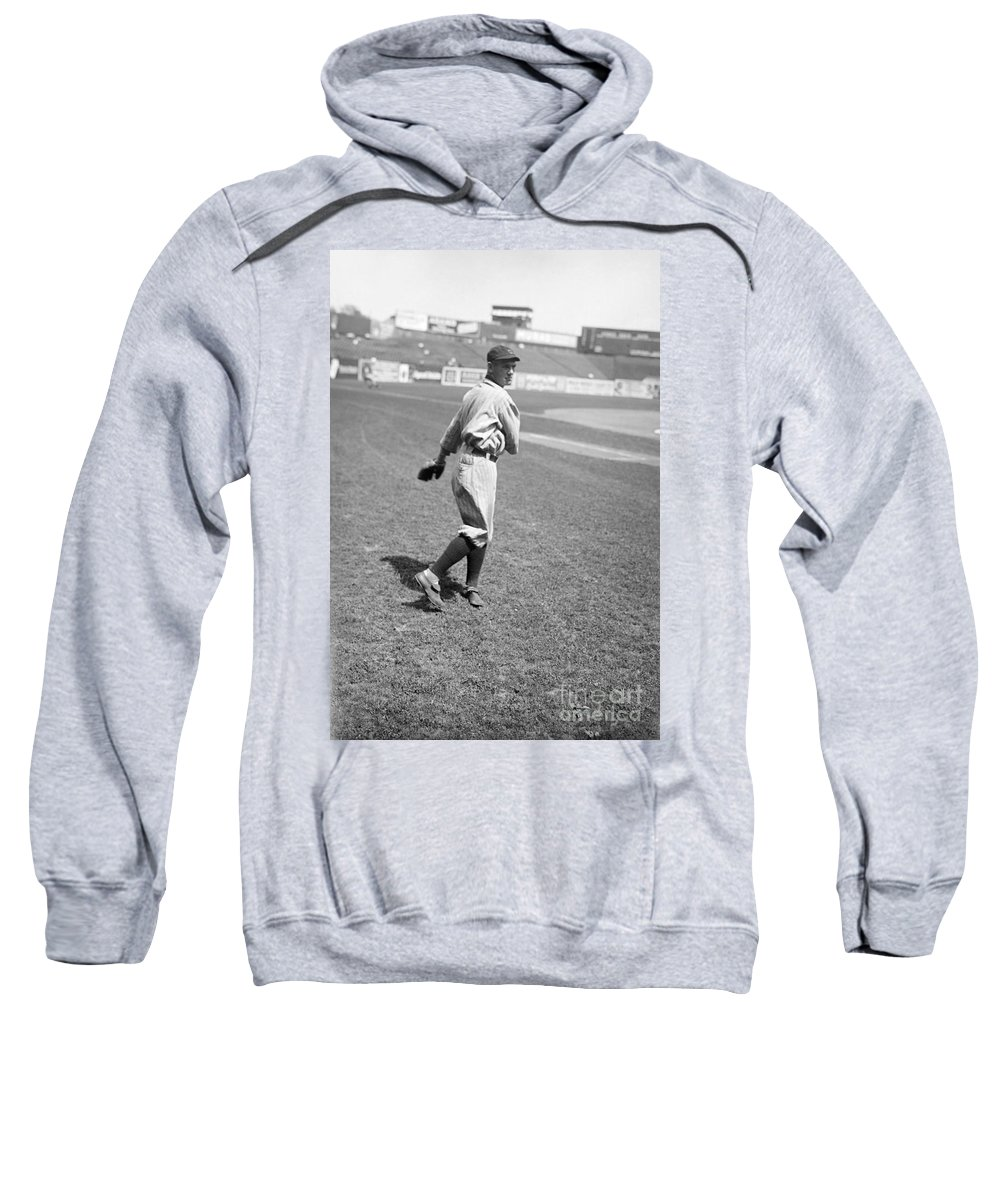 1919 Sweatshirt featuring the photograph Raymond Johnson Chapman by Granger