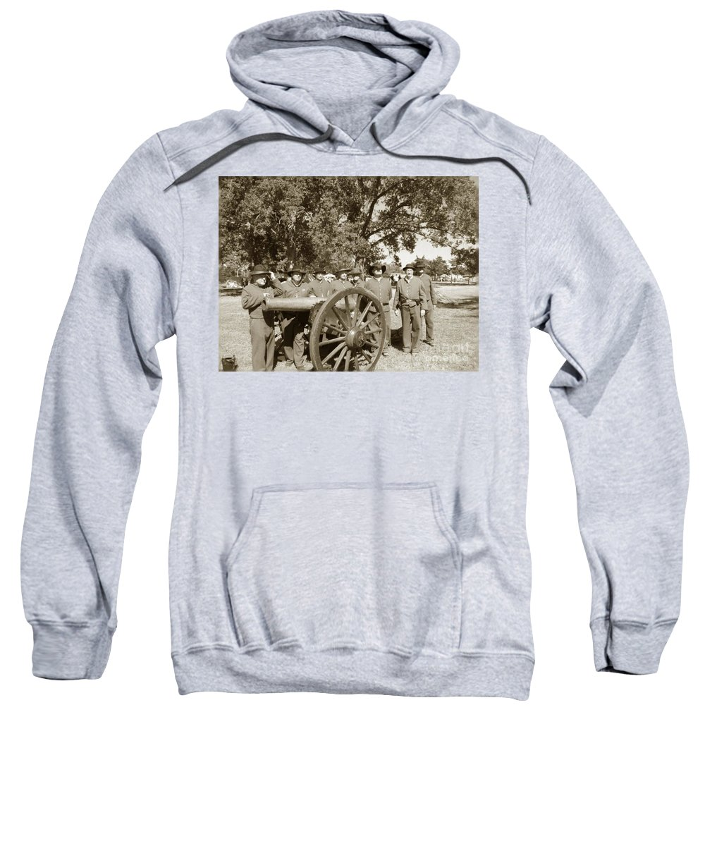Olden Sweatshirt featuring the photograph Ready For Battle by Charleen Treasures