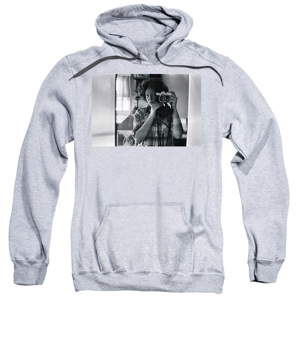 Portrait Sweatshirt featuring the photograph Reflecting Back by Rory Sagner