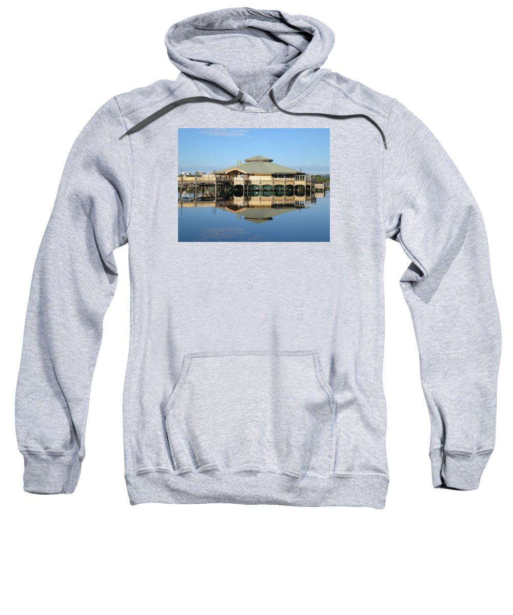 Reflection Sweatshirt featuring the photograph Reflection by Marlene Challis
