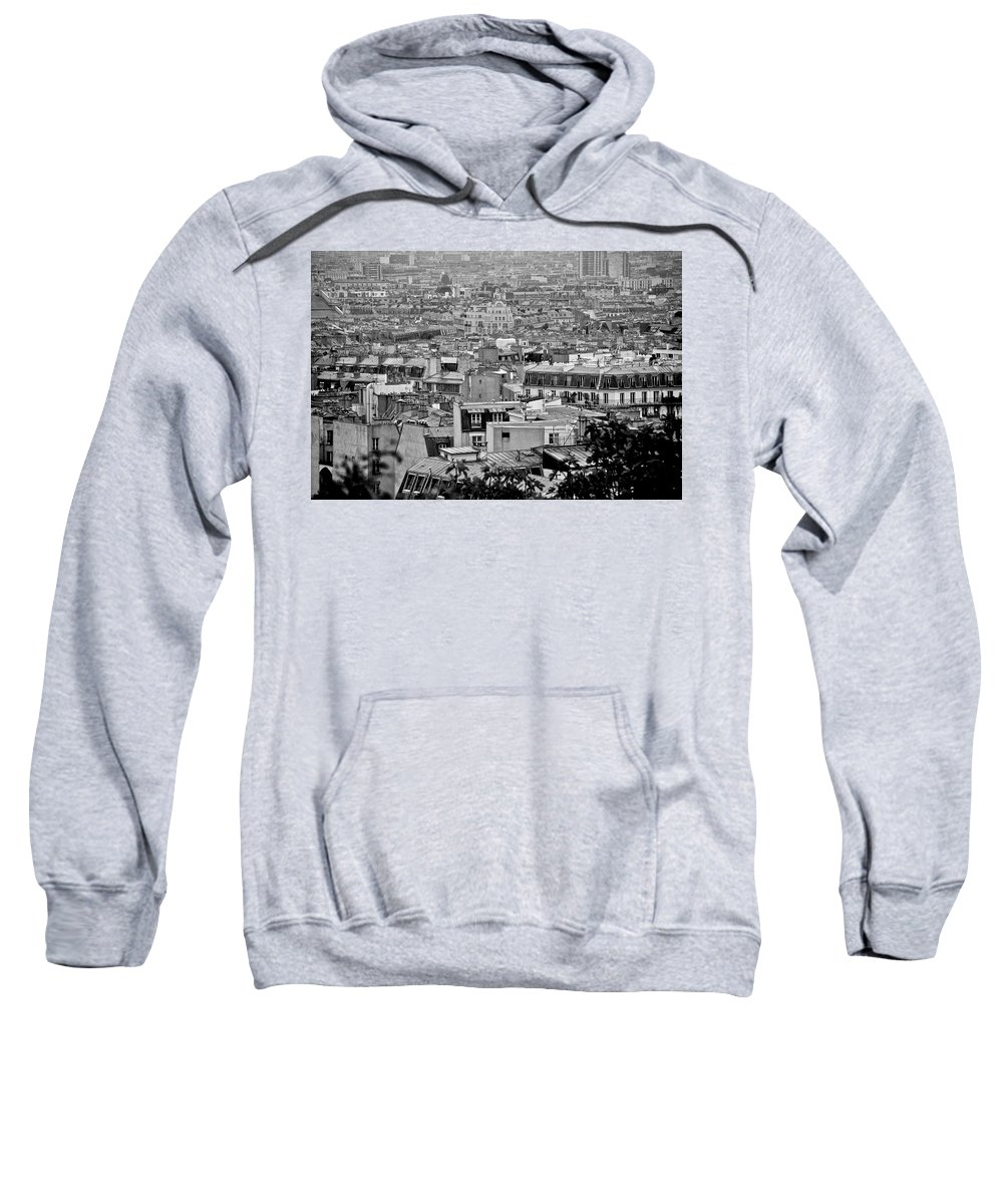 Paris Sweatshirt featuring the photograph Roof Tops Of Paris by Eric Tressler