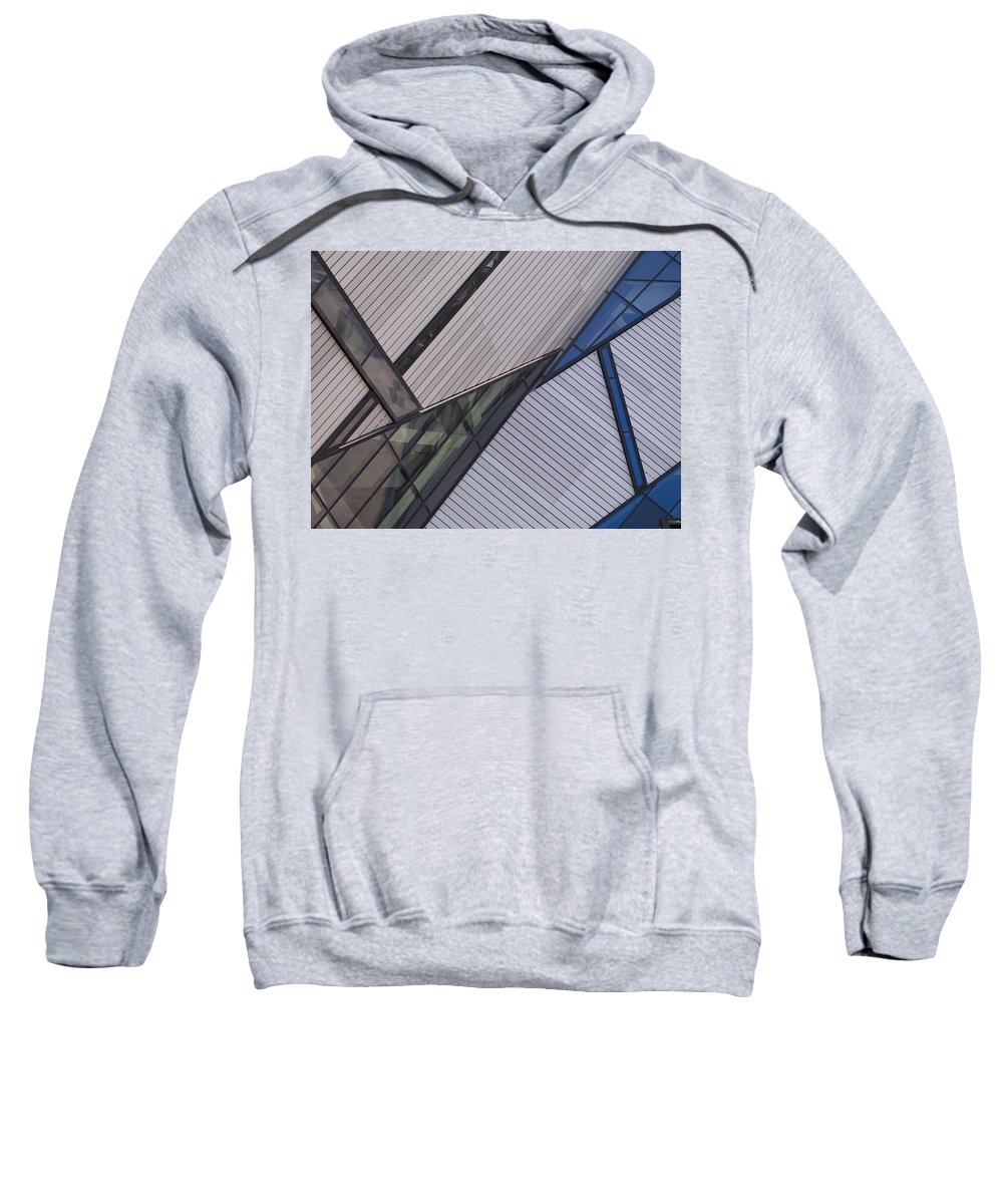 Abstract Design Sweatshirt featuring the photograph Royal Ontario Museum, Toronto, Ontario by Keith Levit