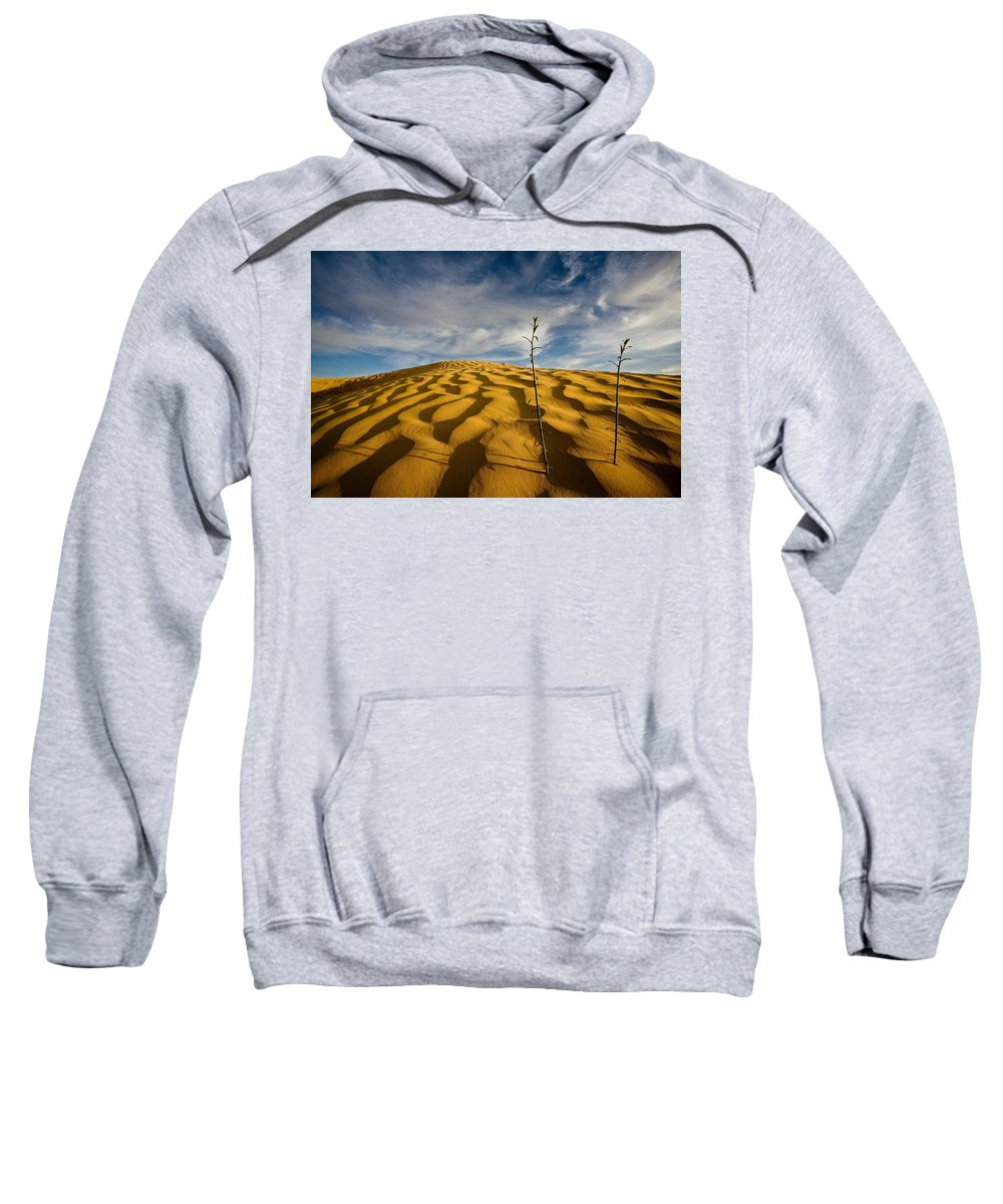 Clouds Sweatshirt featuring the photograph Sahara Desert, Tunisia, Africa by David DuChemin