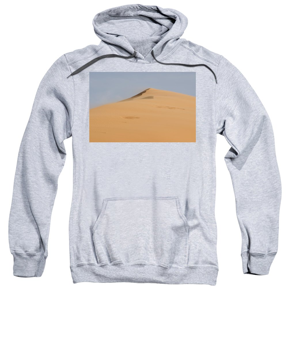 Coral Pink Sand Dunes Sweatshirt featuring the photograph Sand Dune by Heather Applegate