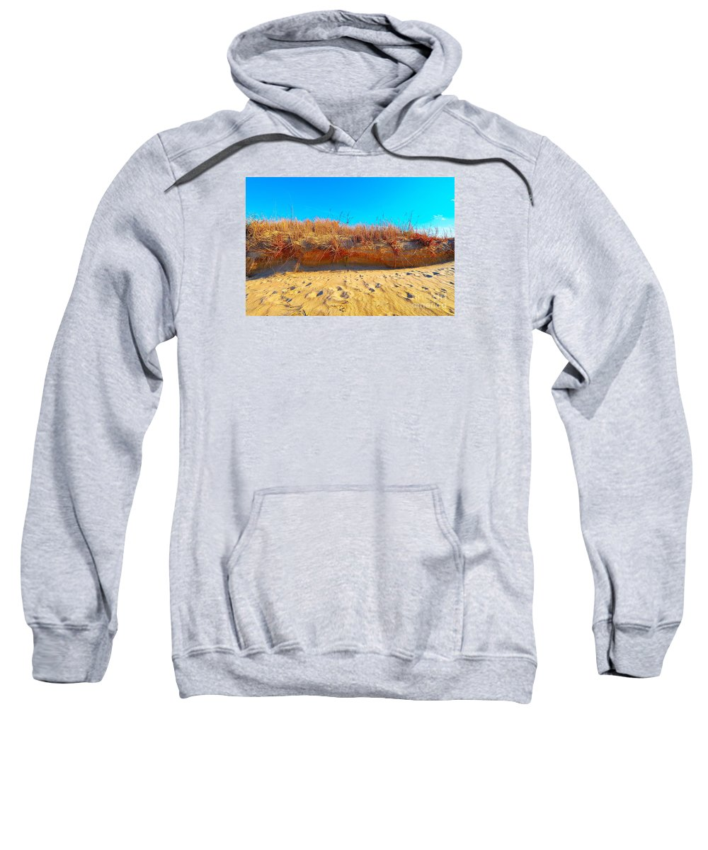 Sweatshirt featuring the photograph Sand Dunes by Eric Grissom