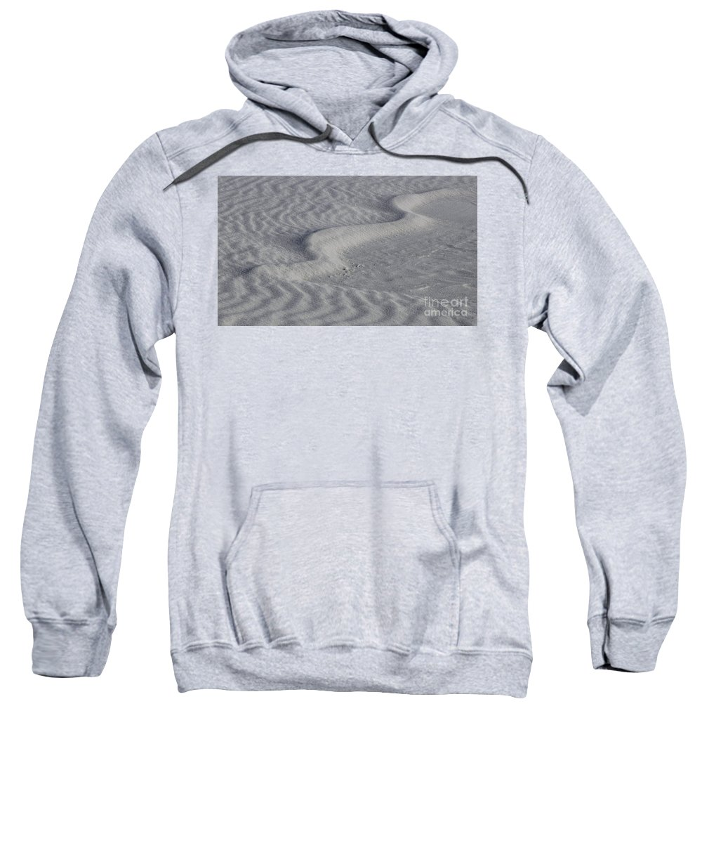 White Sands Sweatshirt featuring the photograph Sand Patterns 2 by Vivian Christopher