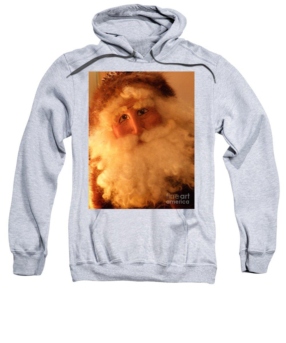 Santa Sweatshirt featuring the photograph Santa by Lainie Wrightson