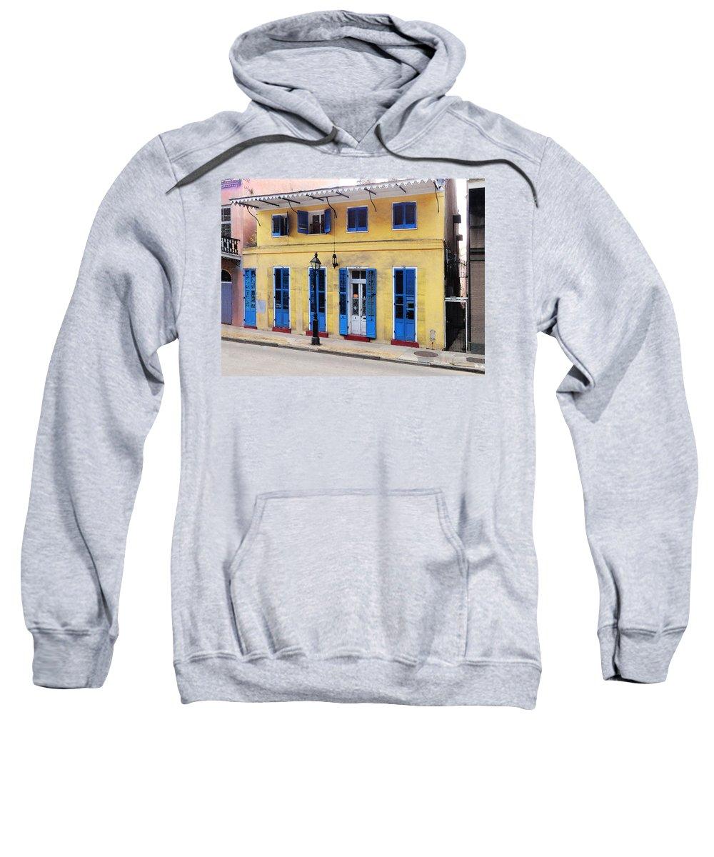 Sweatshirt featuring the digital art Savan Wilby Wilson Home by Michael Thomas
