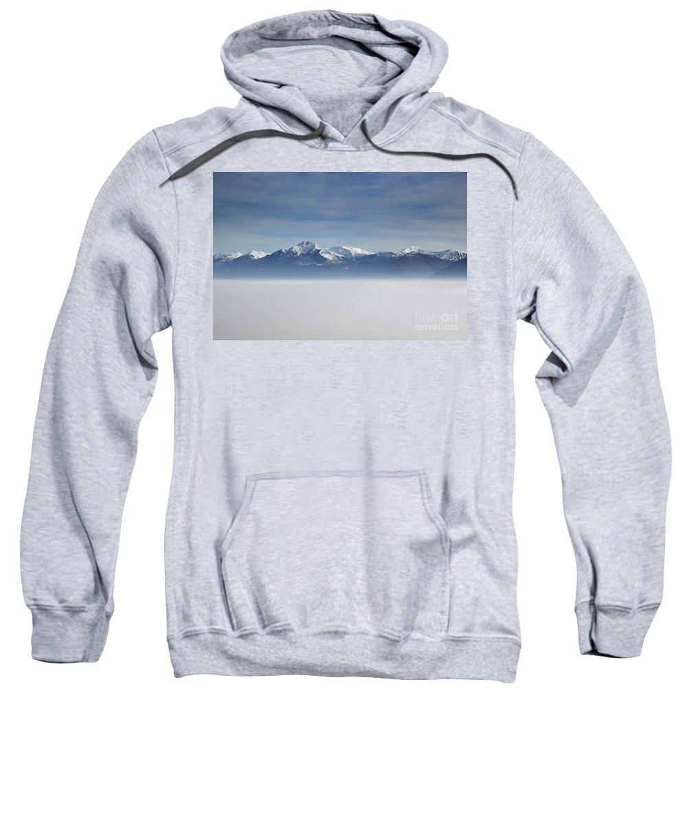 Sea Of Fog Sweatshirt featuring the photograph Sea Of Fog by Mats Silvan