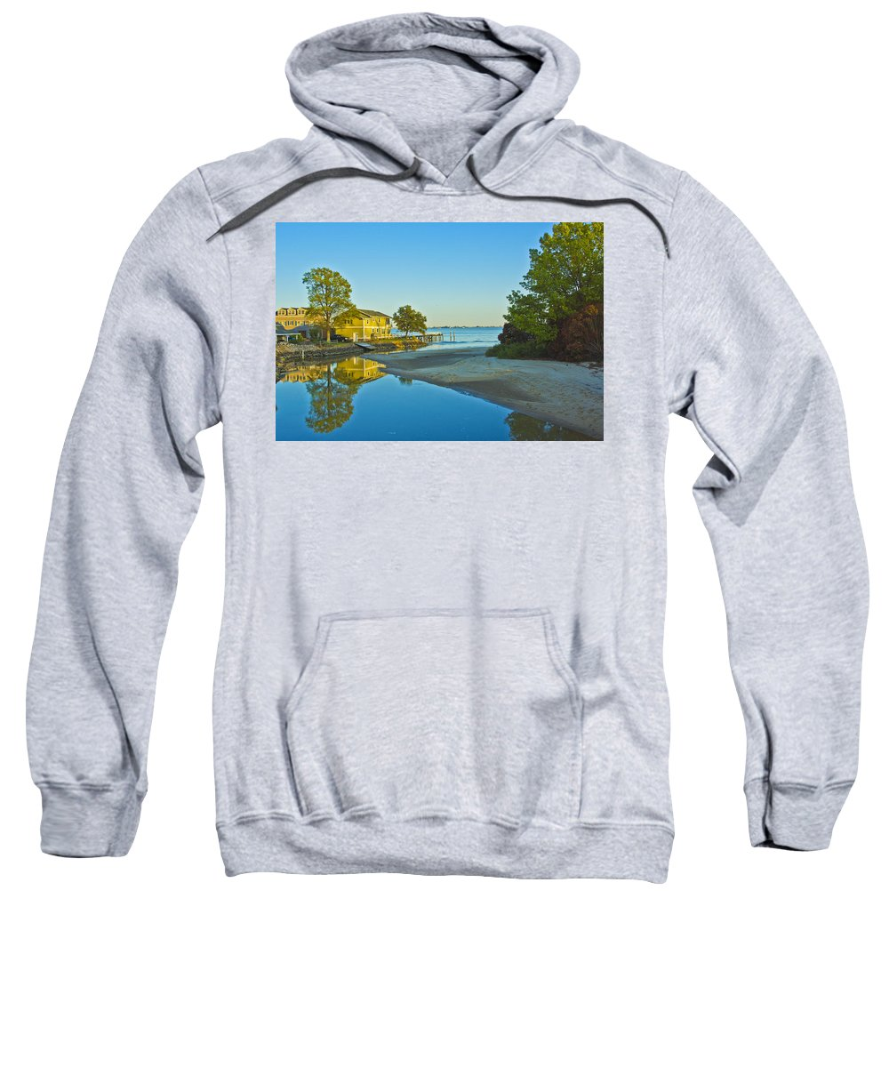 Landscape Sweatshirt featuring the photograph Serenity by Theodore Jones