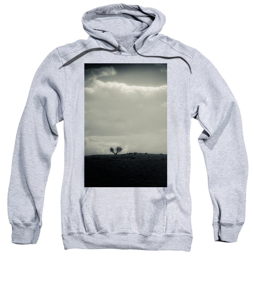 Tree Sweatshirt featuring the photograph Small In A Large World by Scott Sawyer