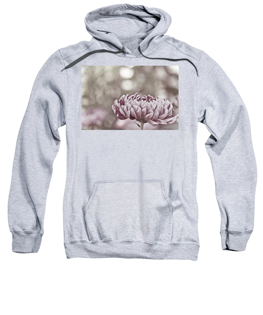 Flower Sweatshirt featuring the photograph Sometimes I Wonder by Trish Tritz