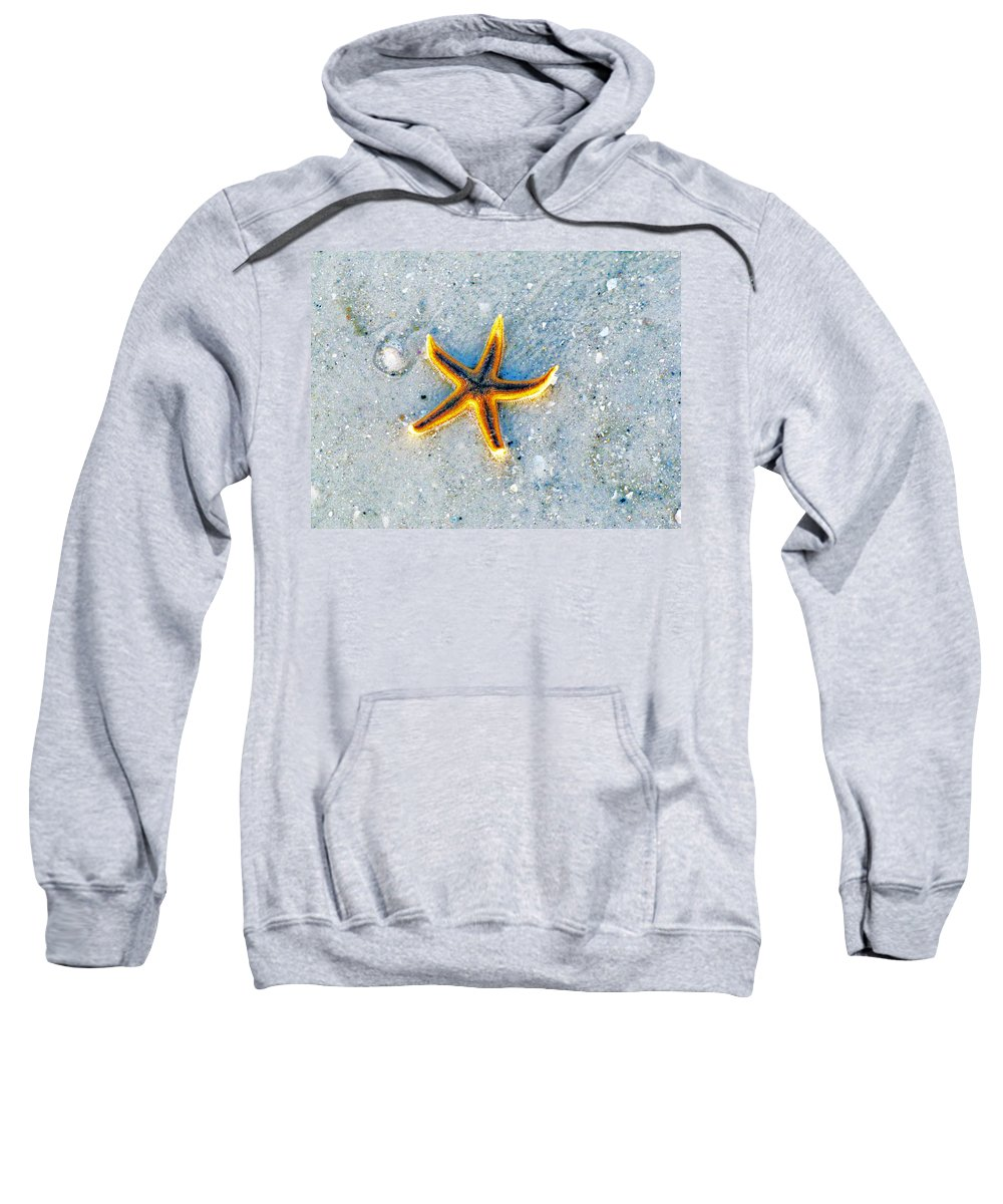 Minimalism Sweatshirt featuring the photograph Somewhere Between Heaven And Earth by Lenore Senior