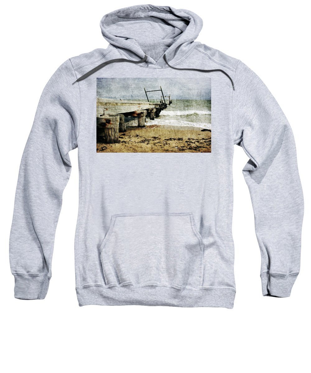 Beach Sweatshirt featuring the photograph Soul Reaver by Andrew Paranavitana