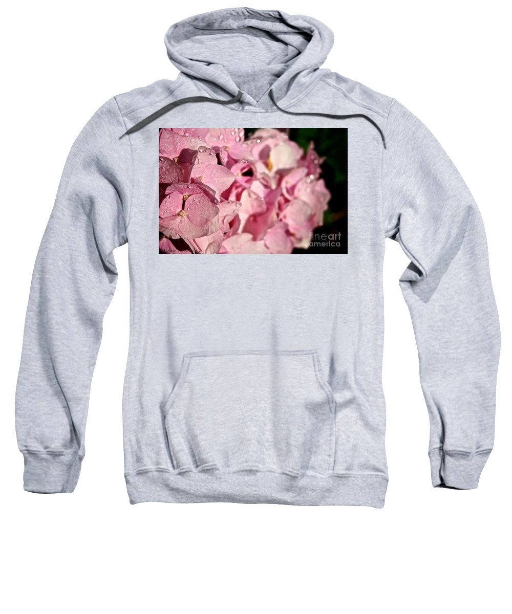 Floral Sweatshirt featuring the photograph Sparkling Spring by Susan Herber
