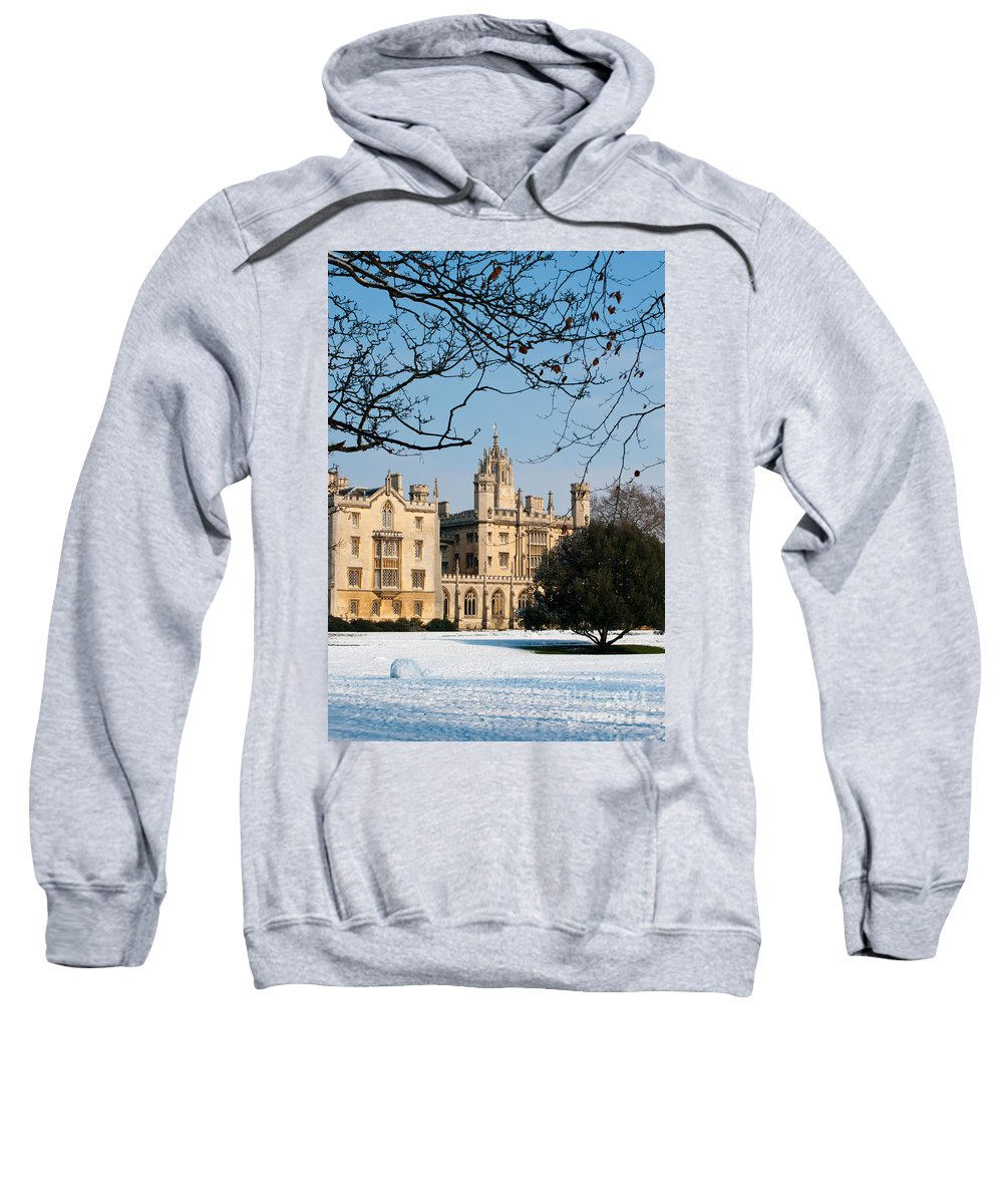 Anglia Sweatshirt featuring the photograph St Johns by Andrew Michael